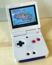 Nintendo Game Boy Advance GBA SP NES White System AGS 101 Brighter MINT