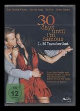 DVD 30 DAYS UNTIL I'M FAMOUS - IN 30 TAGEN BERÜHMT - CARMEN ELECTRA *** NEU ***
