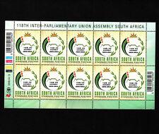 OPC 2008 South Africa RSA IPU Union Assembly Full Sheet Sc#1377 MNH 34075