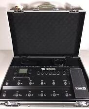 Line 6 POD HD500X Multi-Effects Guitar Effect Pedal w/Case, Cables Excellent