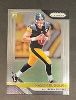 2018 Prizm Football MASON RUDOLPH Rookie RC #225 - Pittsburgh Steelers