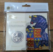 More details for the queen's beast black bull of clarence  2018 bu £5 five pound sealed pack