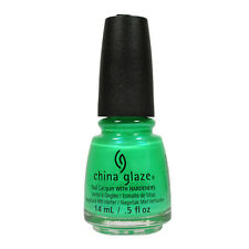 China Glaze Nail Polish Lacquer 70640 In The Lime Light 0.5oz