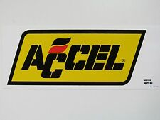 Accel Ignition Wires Sticker Decal New Drag Race Car Hot Rat Toolbox Mechanic