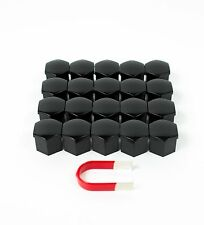 Dodge Challenger and Hellcat Wheel Nut Covers / Lug Nut Covers - Glossy Black