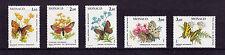 MONACO - 1984 Papillons-U / M-SG 1651-5