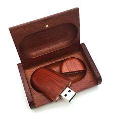 Wedding Gift Wood Bamboo Dexterity 16GB 32GB USB Memory U Stick Flash Pen Drive