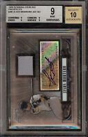 2008 Bowman Sterling Jesus Montero Rookie RC Jersey BGS 9 Autograph 10 Auto 05