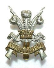 Original WWII British Cap Badge-3rd Carabiniers (Rifles)