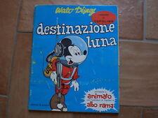 TOPOLINO DESTINAZIONE LUNA I ROMANZI DI TOPOLINO EDIZIONI LA GIOSTRA ANNI '60!!!