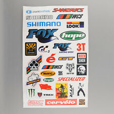 BMX MTB Bike Cycling Bicycle Scrapbook Decal Cool Sheet Stickers Sticker HOT