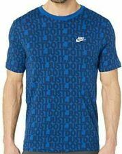 Nwt Nike Just Do It All Over Print Short Sleeve Tee Shirt Mens Size Xxl Ar5000