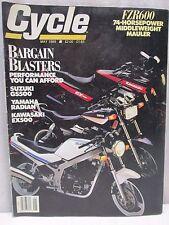 Vintage Cycle Magazine May 1989 Motorcycle Suzuki GS500 Yamaha Radian Kawasaki