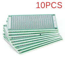 10PCS Double Side 4x6cm PCB Strip Board Printed Circuit Prototype Track HF