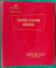 1959 GE Radio Communication Equipment Service Station Manual & Parts Catalog