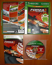 Forza Motorsport 2, Classics Best Sellers, Xbox 360, Pal-España ¡¡COMPLETO!!