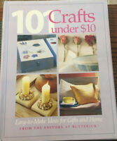 The Editors at Butterick 101 Crafts Under $10 Hardcover Book Easy To Make Gifts