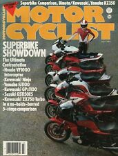 1984 July Motorcyclist - Vintage Motorcycle Magazine