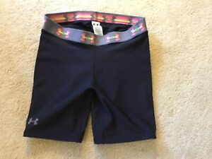 Under Armour Womens Sofrtball Slider Shorts - Size M