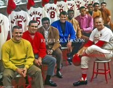 1967 St Louis Cardinals World Series Champions Locker Room 8x10 Photo - Regular