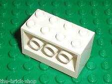 LEGO White Brick ref 6061 / Set 6454 Countdown Corner