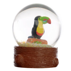 Tropical Rainforest Toucan bird Snow Globe snow storm water ball