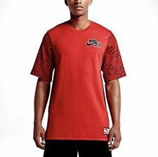 New Nike Mens Air Basketball Pivot Heavy Leopard T-Shirt Small 687058-657 $50