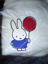 LOVELY MIFFY  FACE CLOTH/ EMBROIDERED IMAGE /TOWELS /KIDS/GIFTS/MASHA/PEPPER PIG