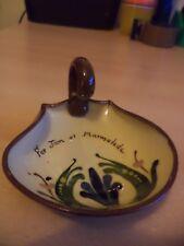 OLD VINTAGE ALLERVALE STUDIO ART MOTTO POTTERY WARE JAM MARMALADE DISH JAR POT