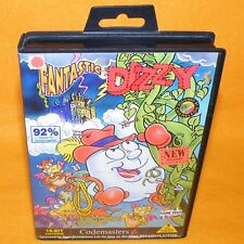 VINTAGE 1993 SEGA MEGA DRIVE FANTASTIC DIZZY 16-BIT CARTRIDGE VIDEO GAME PAL