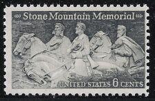 US Scott #1408, Single 1970 Stone Mountain 6c FVF MNH