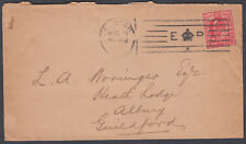 1903 KEVII E CROWN R Bickerike M/C London to Albury, Guildford, Surrey