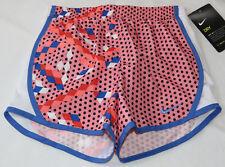 Nike Dri Fit 6X L Youth girls active Running shorts 3MB833-A4E Bright Melon^^
