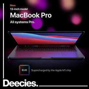 NEW M1 Apple MacBook Pro 13inch 512GB SSD 16GB RAM Space Grey Laptop Mac Silicon