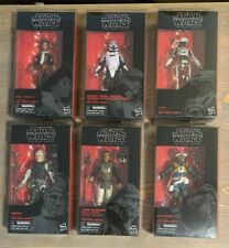 Star Wars Black Series 6 Inch Force Awakens Wave 19 (6 of 7 Figures)