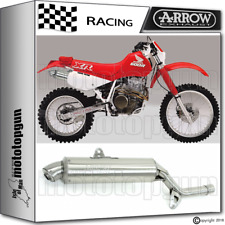 ARROW MUFFLER PARIS DACAR STAINLESS STEEL RACE HONDA XR 600-R 1993 93 1994 94