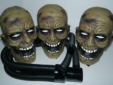 Zombie Head Fog Machine Hook Up Halloween Party Decoration 400W Accessory Kit