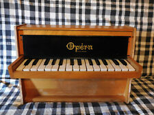 VERY RARE TOY PIANO OPERA MADE IN FRANCE 29 KEYS (similar to Michelsonne sound)