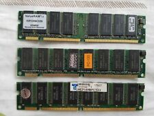Kingston PC133 256 MB DIMM 133 MHz SDRAM Memory (KVR133X64C3/128 CE)