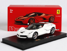 Bburago 1:43 Signature Series Ferrari Laferrari White Diecast Model Racing Car