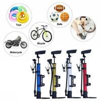 Hand Sport Cycling Bicycle Air Pump Ball Basketball Inflator Bike Tyre Socc P3T8