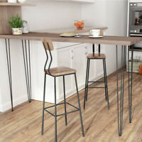 """21.25"""" Solid Wood Table Legs Set of 4"""