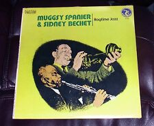 SEALED Muggsy Spanier & Sidney Bechet RAGTIME JAZZ Olympic LP MINT Lazy River