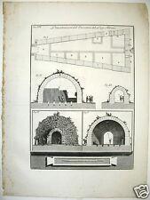 GB Piranesi 1762 etching Emissario Lago Albano Rome