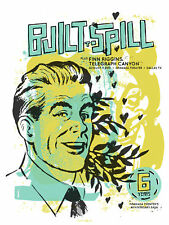 Built To Spill August 2010 Limited Edition Gig Poster