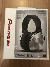 Pioneer Se-ms7bt-s Wireless Over Ear Headphone Integrated Microphone Controls