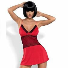 Negligé Camicia da notte 32-42 Lingerie indumenti Obsessive LAMIA S-m 32-36