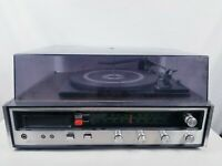Vintage Sears Stereo Record Player/Cassette Tape/8 Track/AM/FM 400-91711-600
