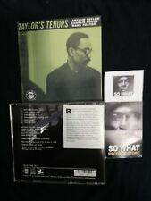 ARTHUR TAYLOR - TAYLOR'S TENORS  -  (PRESTIGE) CD