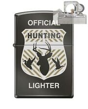 Zippo cm6296 official hunting badge Lighter with PIPE INSERT PL
